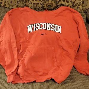 Nike Wisconsin hoodie